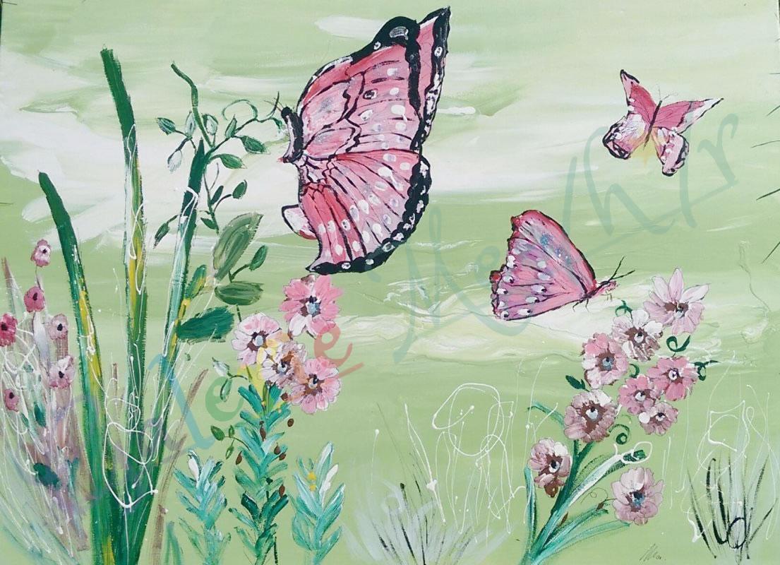 Schmetterling 01 80cm x 60cm