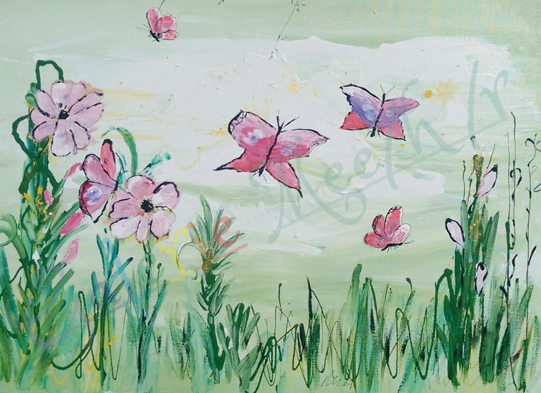 Schmetterling 02 120cm x 90cm