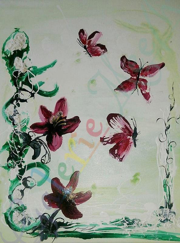 Schmetterling 03 80cm x 60cm
