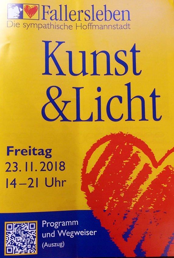 Kunst und Licht Fallersleben 2018
